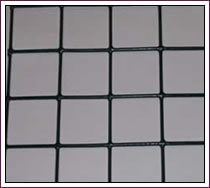 Black Vinyl Coated Wire Mesh, Popular Color